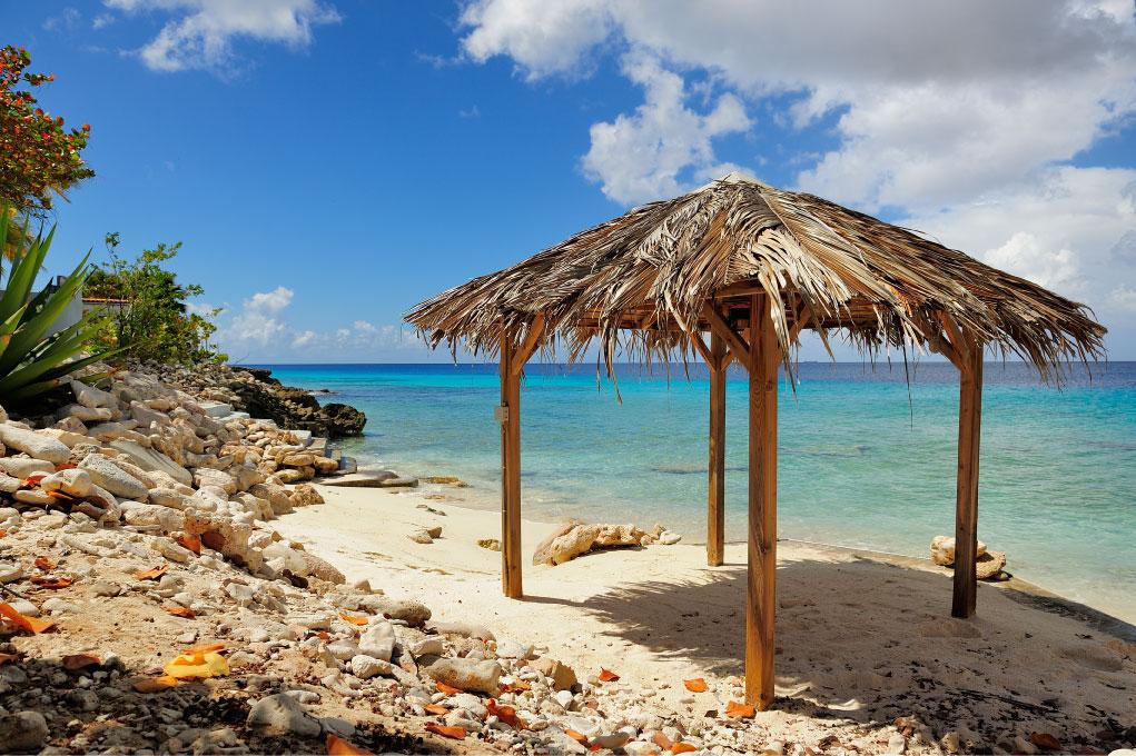honeymoon bonaire private beach